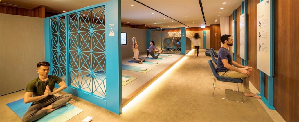 Cathay Pacific's Hong Kong Yoga & Meditation Space – The